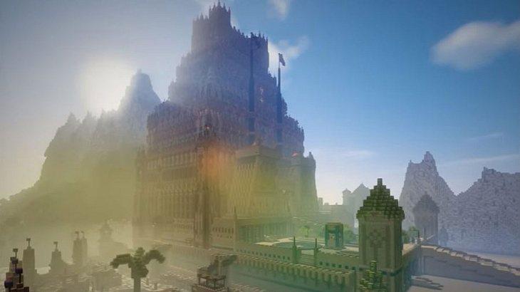 Mann erbaut in 5 Jahren die gigantischste Minecraft-Welt allerzeit