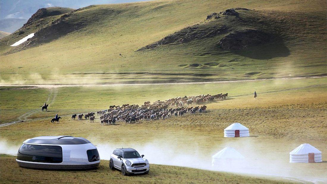 Camping-Konzept: Mit dem MINI F60 in die Zukunft reisen