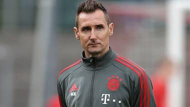 Miroslav Klose wird Co-Trainer beim FC Bayern München