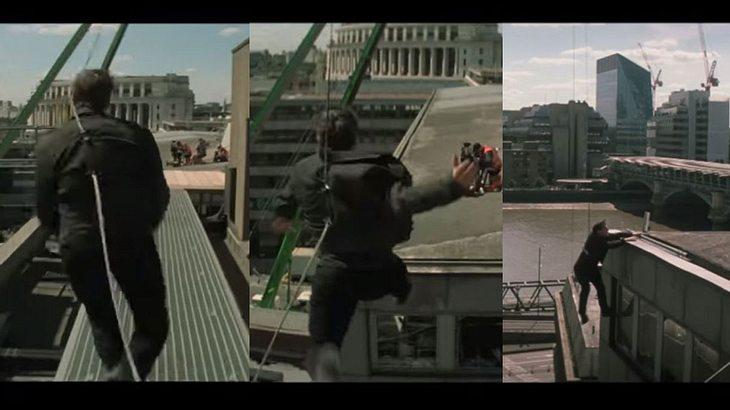 Tom Cruise bei den Dreharbeiten zu M:I 6