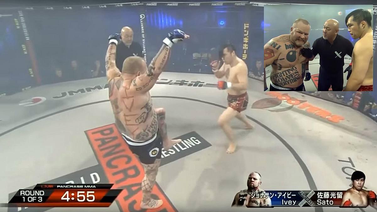 MMA-Psycho provoziert Gegner. Mit fatalen Folgen