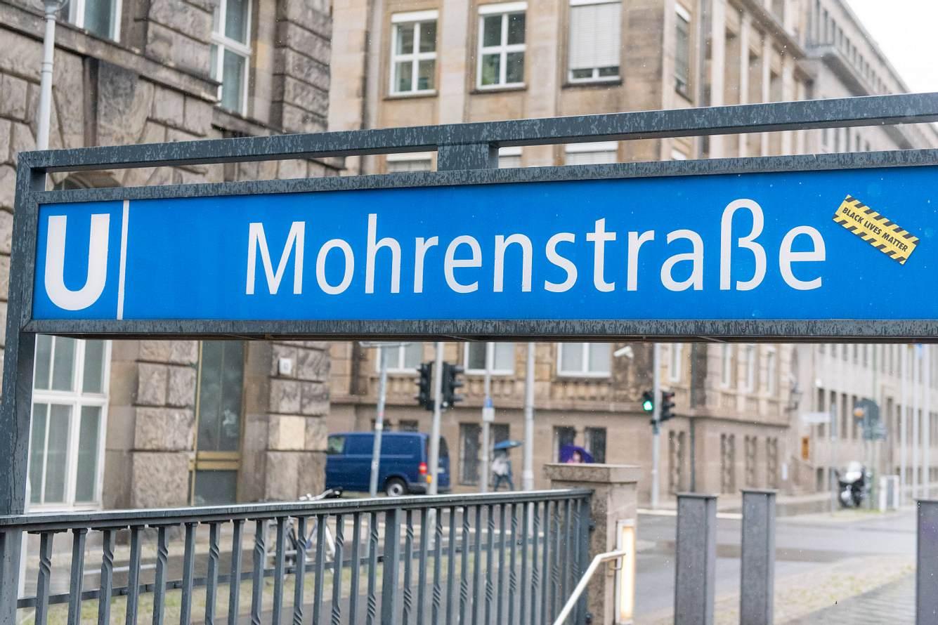 Die Mohrenstraße in Berlin