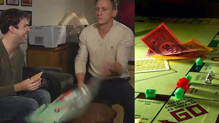 Monopoly-Spieler, die ausrasten, sind Kontroll-Freaks
