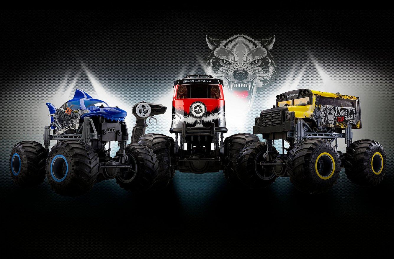 Monster Trucks von Revell