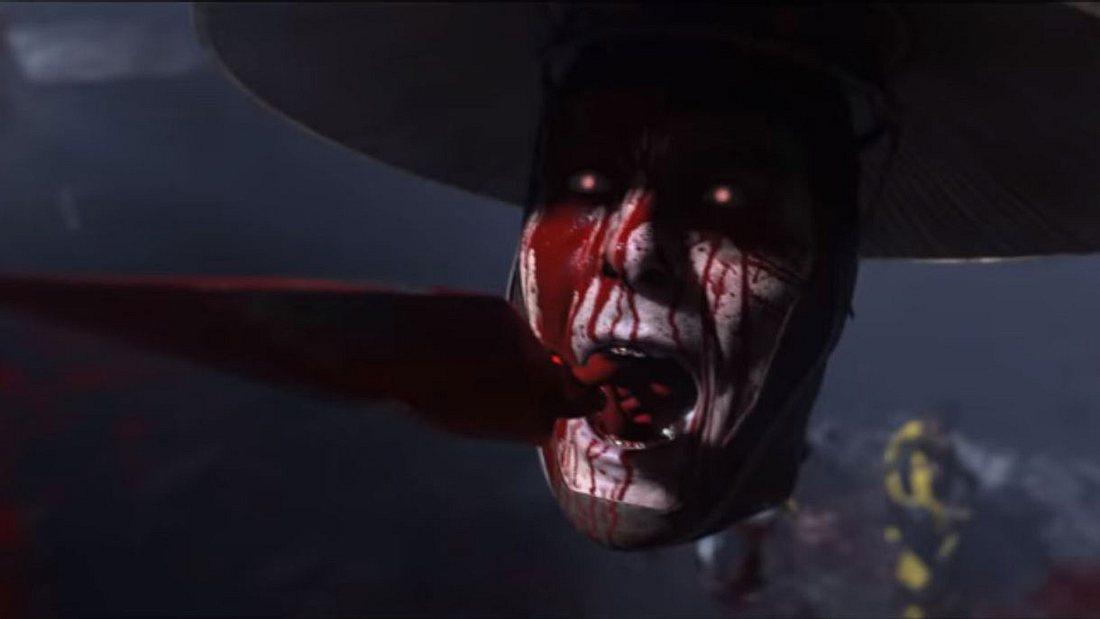 Szene aus dem Mortal Kombat 11-Trailer