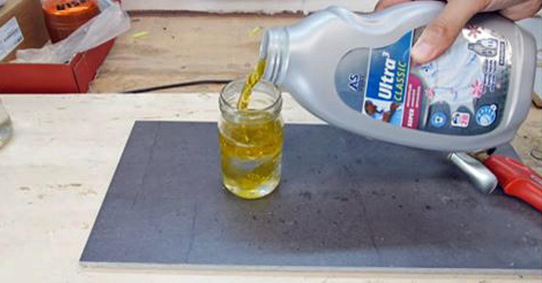 Roman Ursu erklärt, wie man mit Motoröl Glas schneidet
