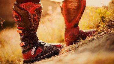 Motocross-Stiefel - Sicherer Halt auch abseits der Piste