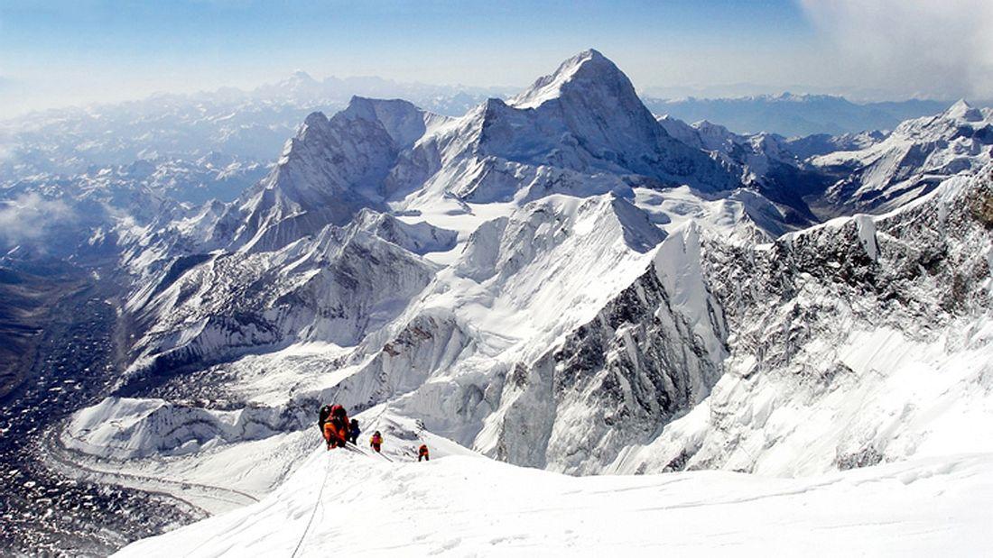 Der Mount Everest ist der Höchste Berg der Welt