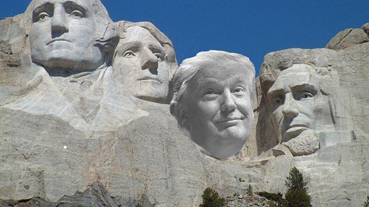 Mount Rushmore mit Trump? Petition fordert Donald J. Trump als fünften Präsidentenkopf