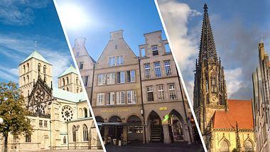 Münsteraner Sehenswürdigkeiten - Foto: iStock / seewhatmitchsee / querbeet / thehague (Collage Männersache)