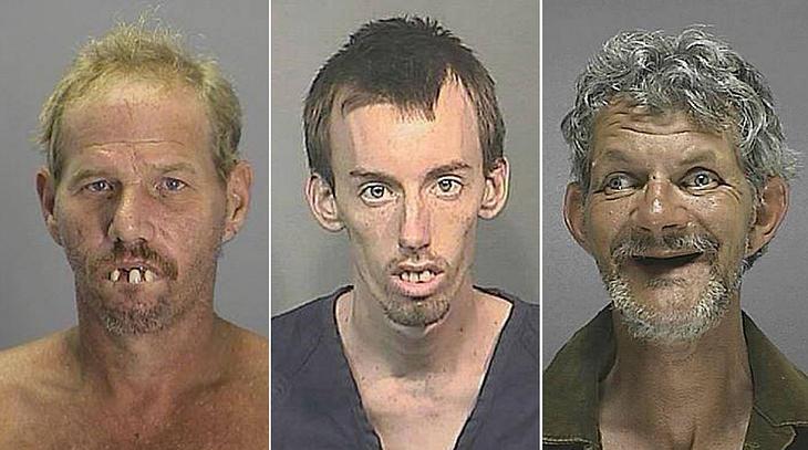 Mugshots der 13 hässlichsten Verbrecher der Welt