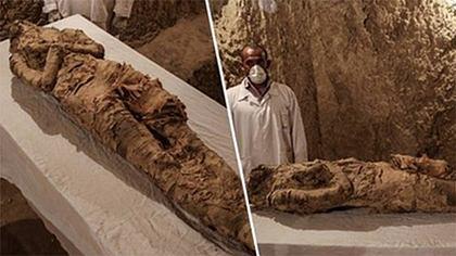 Entdeckung des Jahres: Mumie in Ägypten gefunden - Foto: UNILAD