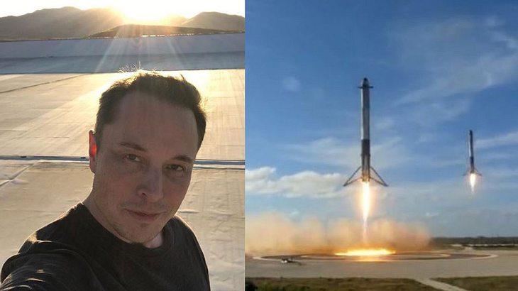 Elon Musk schießt Rakete ins All – inklusive Nachricht an Aliens