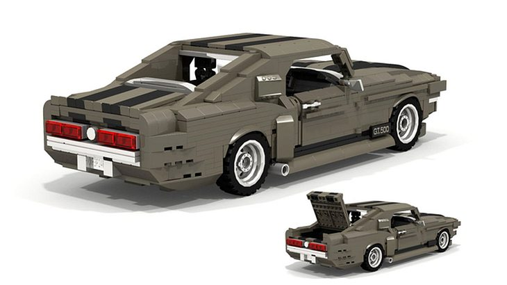 shelby mustang gt500 das kultauto als lego bausatz. Black Bedroom Furniture Sets. Home Design Ideas