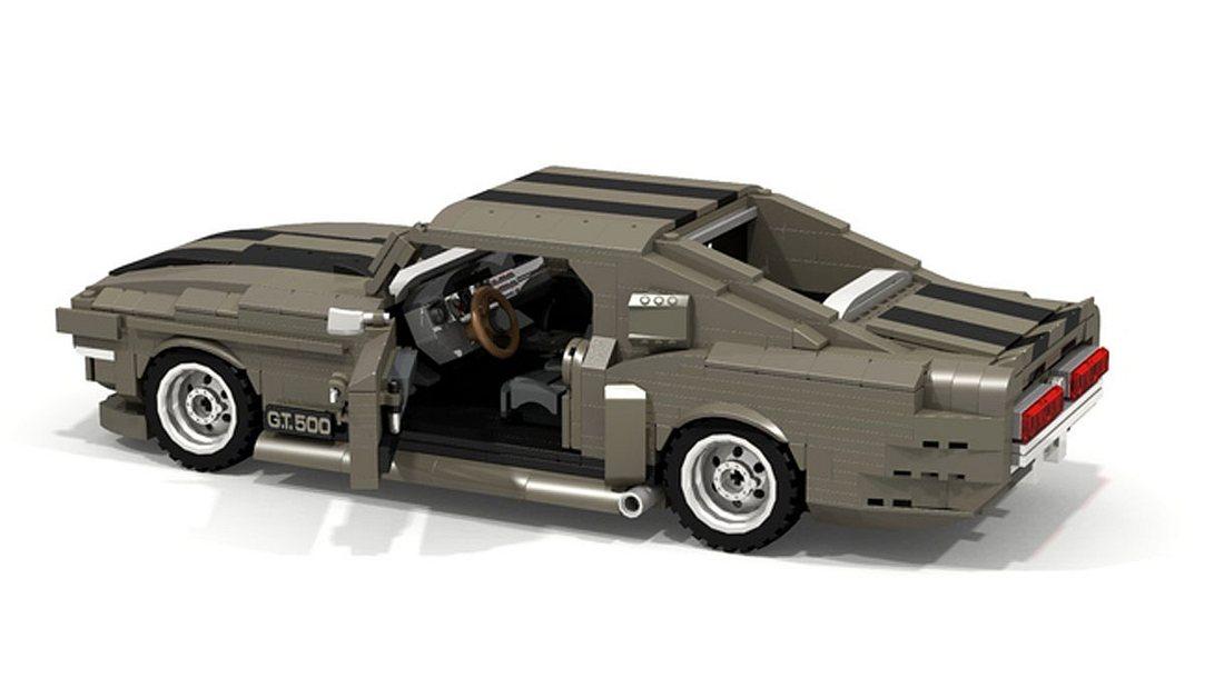 Der Shelby Mustang GT500 als Lego-Bausatz