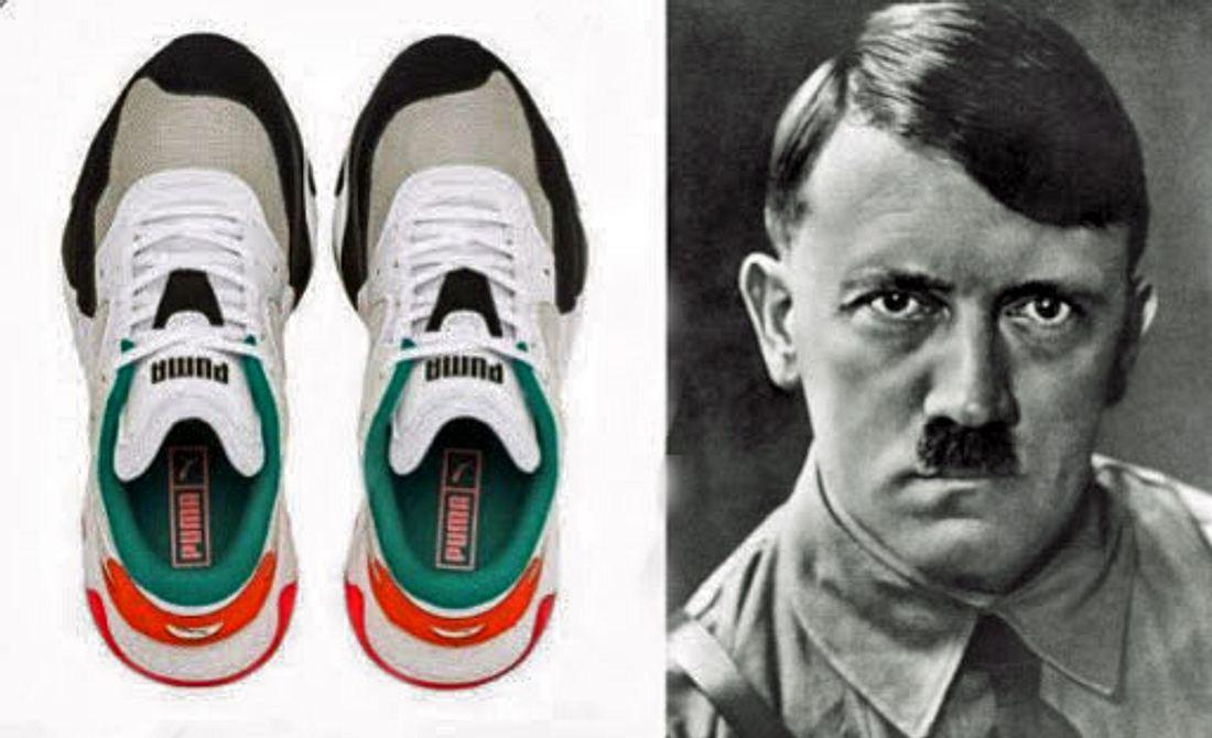 Puma-Sneaker, Adolf Hitler
