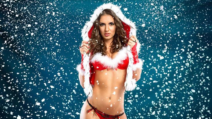 Nackte Weihnachten