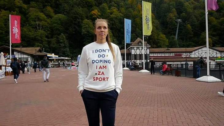 """I don't do Doping"""