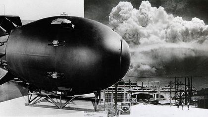 Fat Man wurde über Nagasaki abgeworfen - Foto: Getty Images