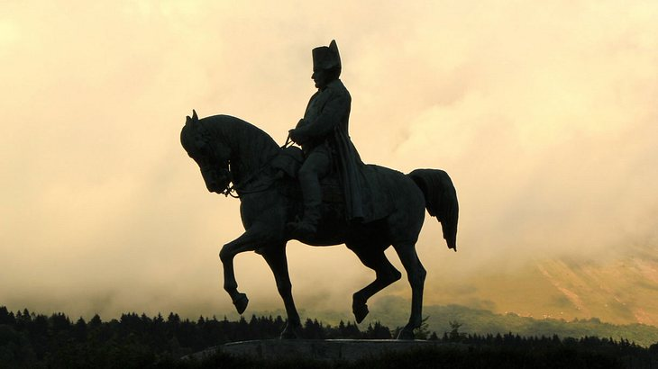 Statue von Napoleon Bonaparte