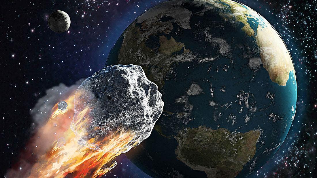 NASA will Asteroiden aus Umlaufbahn schießen (Symbolfoto).