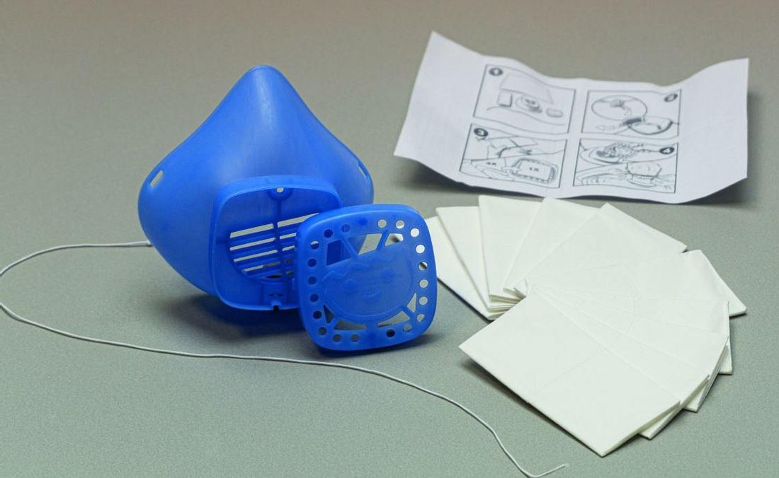 Nase-Mund-Schutz von Playmobil