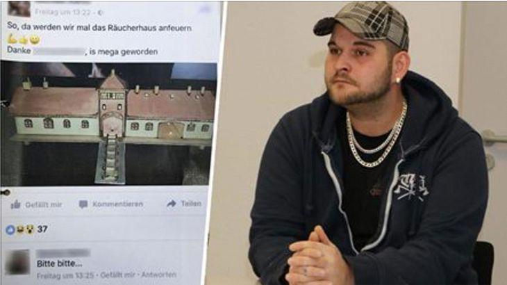 Neo-Nazi Michael R. steht wegen einem KZ-Posting bei Facebook vor Gericht