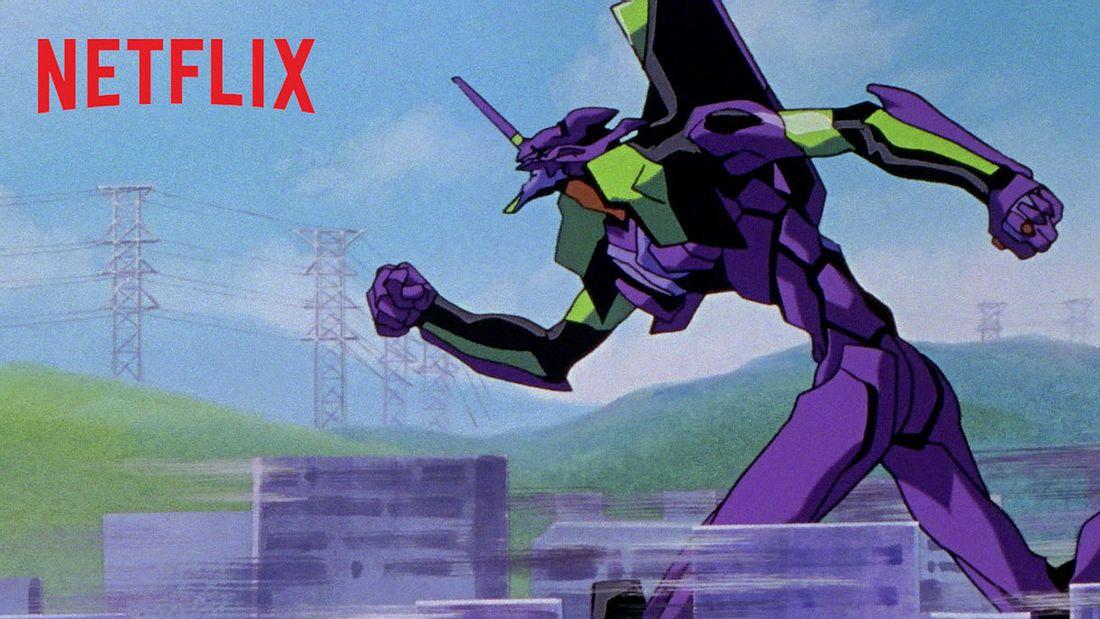 Neon Genesis Evangelion auf Netflix