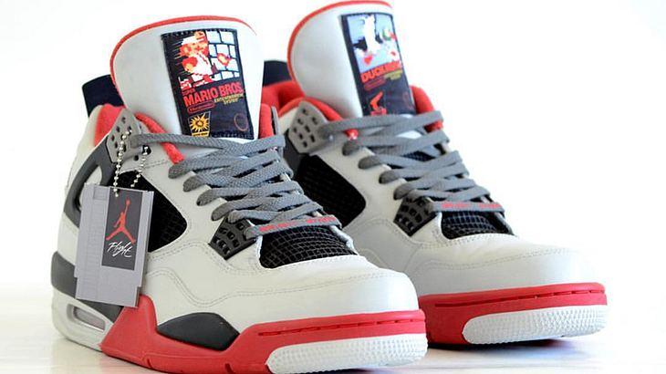 Nerdalarm: Diese Air Jordans huldigen dem NES Classics