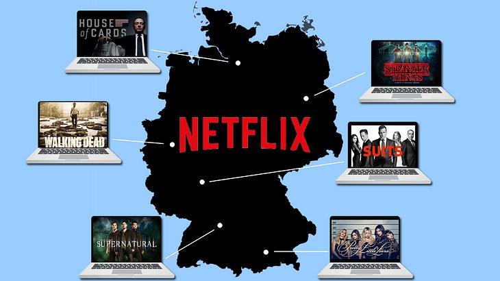 Netflix-Studie: Diese Serien schauen die Deutschen