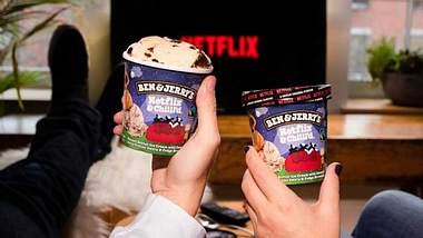 Netflix & Chilll'd: Ben & Jerry's neues Eis versüßt dir den Serienmarathon