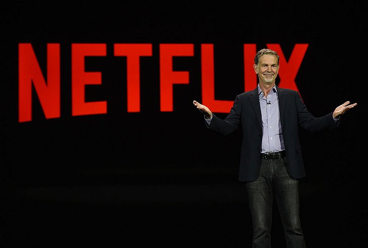 Netflix-CEO Reed Hastings.