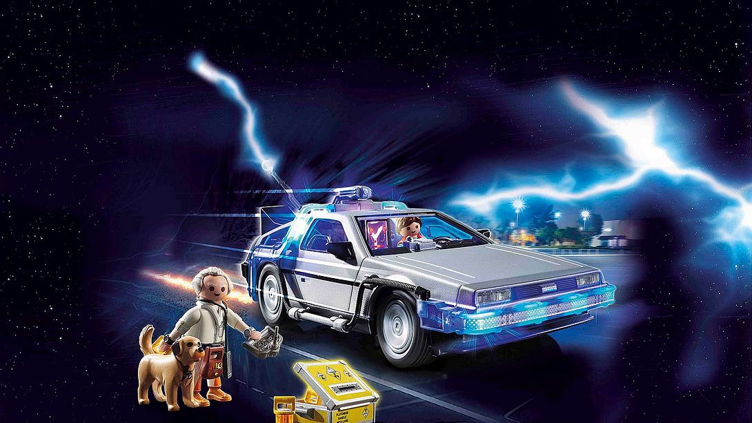 Der DeLorean aus Back to the Future von Playmobil - Foto: Playmobil