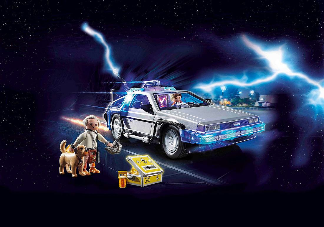 Der DeLorean aus Back to the Future von Playmobil