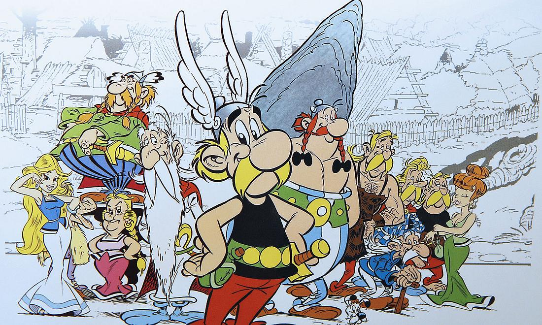 Asterix-Comic