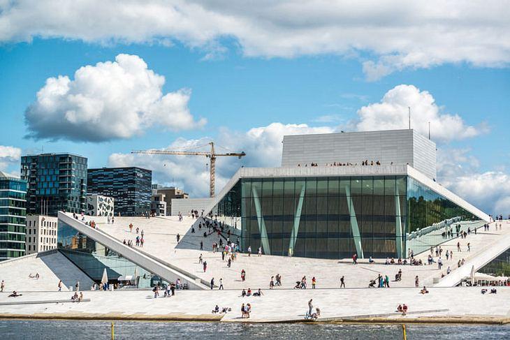 Neues Opernhaus in Oslo.