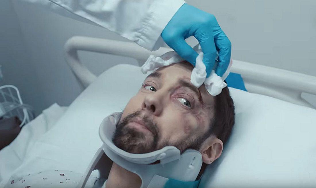 Eminem im Krankenhaus