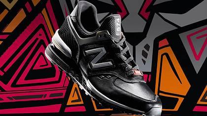 Marvel und New Balance: Neue Sneaker im Black Panther-Stil