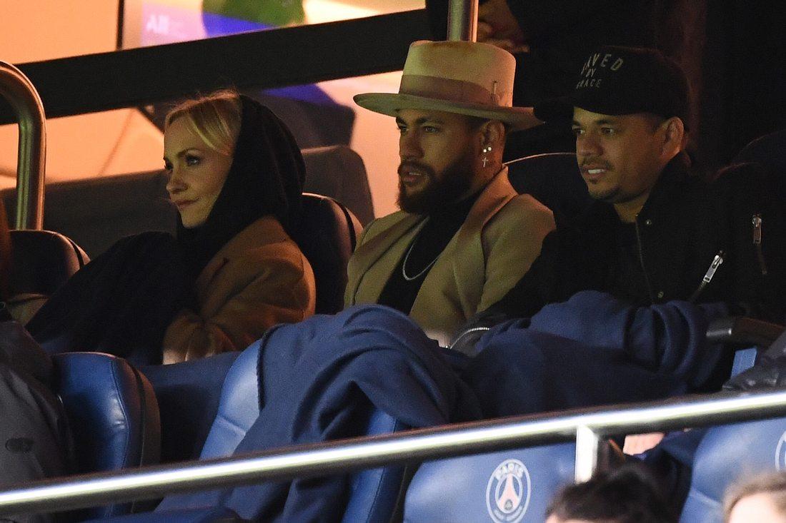 Neymar Jr. und Janin Ullmann