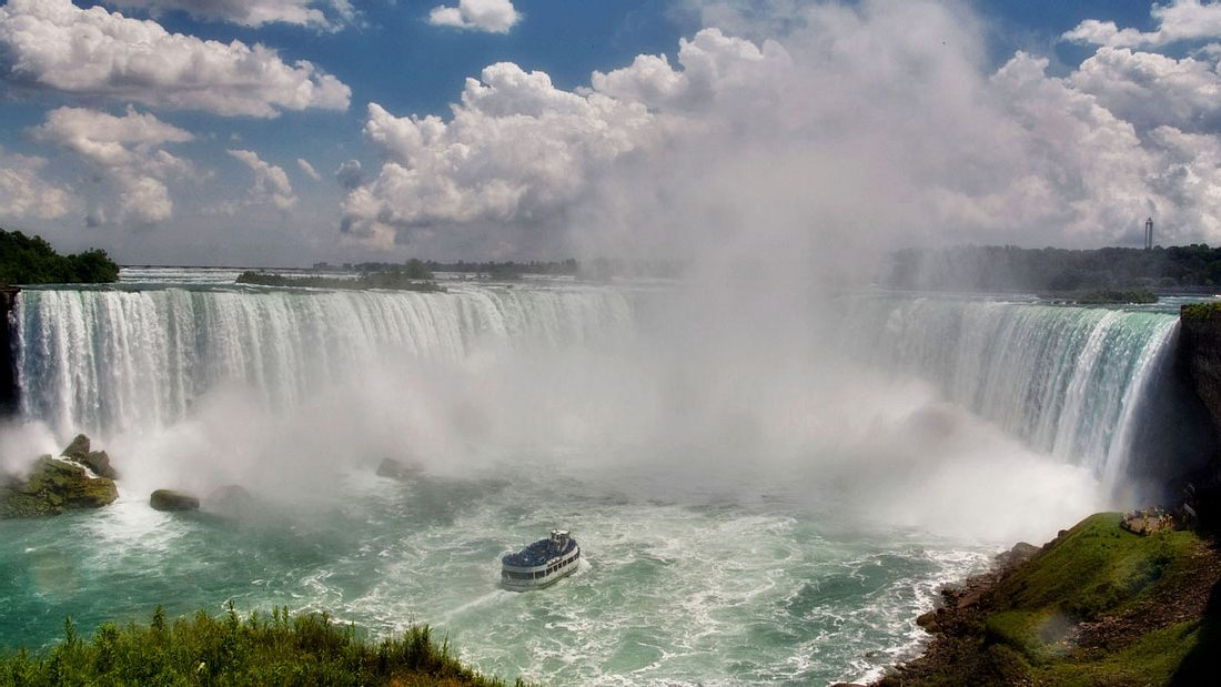 Das Geheimnis der Niagara Fälle