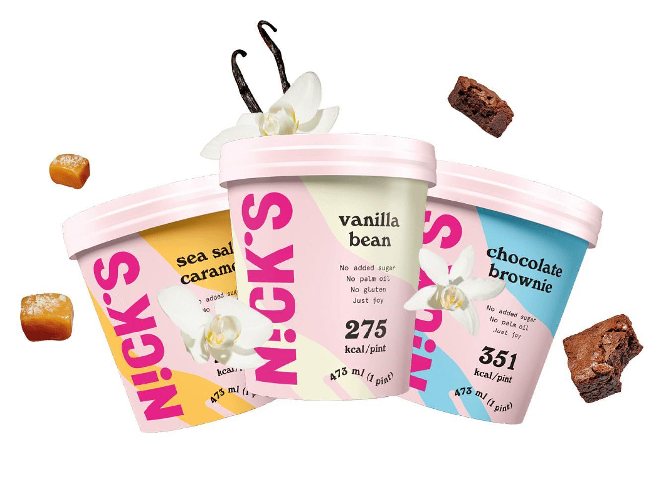 Nick's Eiscreme Gutschein im Wert von 50 €