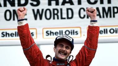 Was macht Nigel Mansell heute?