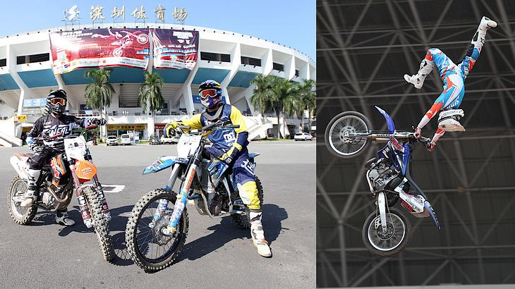 Night of the Jumps in Shenzhen