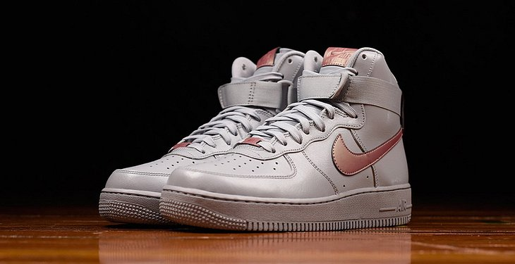 Nike Air Force 1 High: Neue Pure Platinum limited Edition