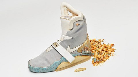 Nike Air Mag: Selbtsschnürender Schuh aus Zurück in die Zukunft wieder unterm Hammer - Foto: Ebay / shoezeum