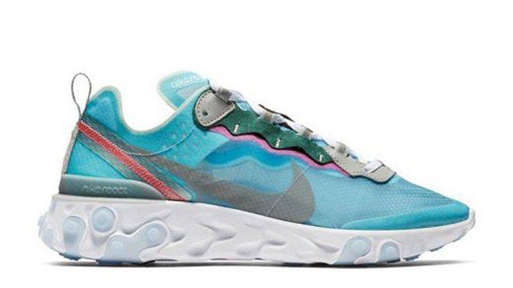 Nike React Element Blue