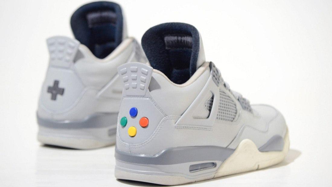 Jordan Super Nintendo IV: Sneaker im Retro-Design!