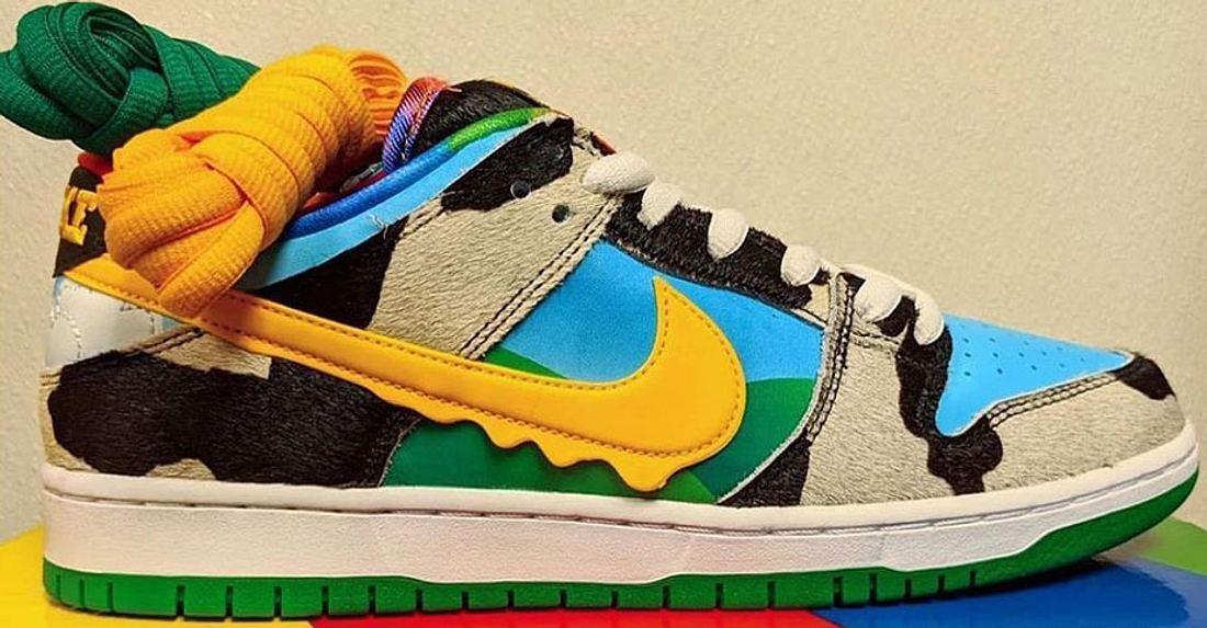 Der SB Dunk Low von Nike und Ben & Jerry's