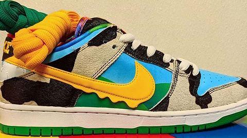 Der SB Dunk Low von Nike und Ben & Jerrys - Foto: Instagram / @94_sbchef