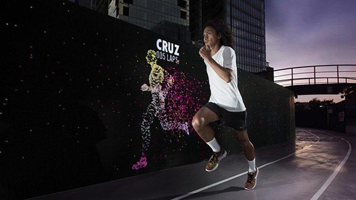 Training der Zukunft: Im Nike Unlimited Stadion in Manila läufst du gegen Avatare